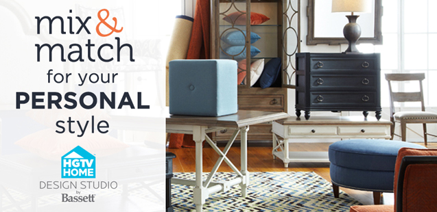 mix and match for your personal style hgtv home design studio by basett