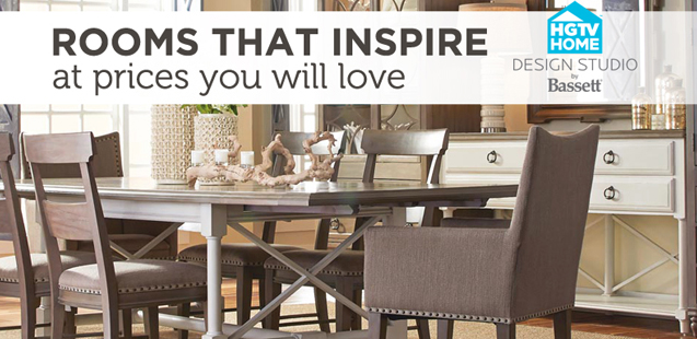 rooms that inspire at prices you will love HGTV home design studio by bassett