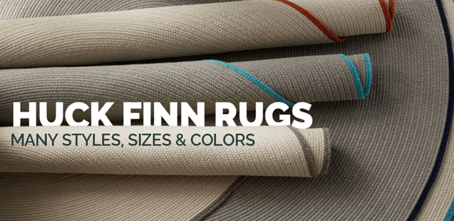 huck finn rugs many sizes styles and colors