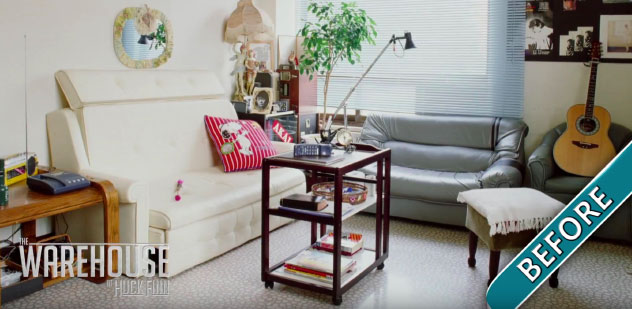 How to redesign a dull living room