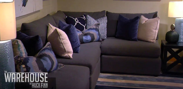 How to turn an old basement into a cozy living room