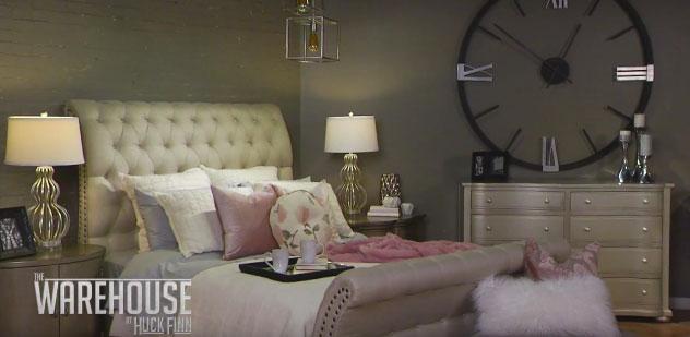 How to design a contemporary glam bedroom