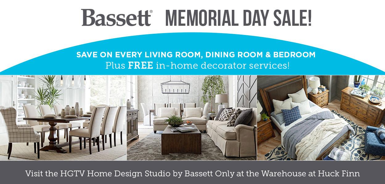 Bassett Memorial Day Sale