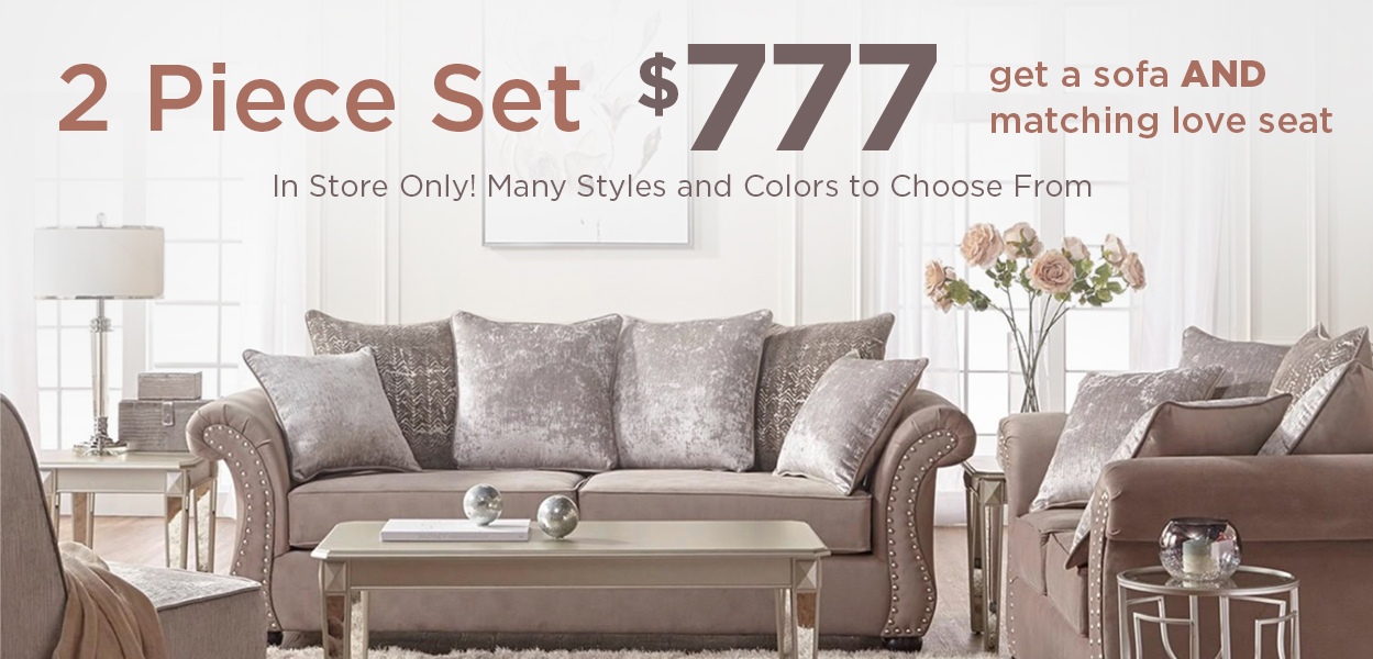 2 Piece Seating Sale